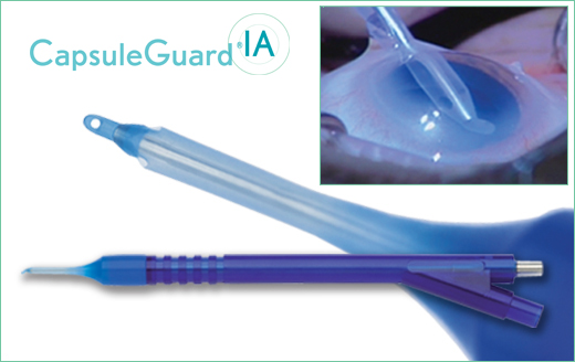 Bausch + Lomb Storz™ CapsuleGuard™ IA Irrigation and Aspiration Handpiece